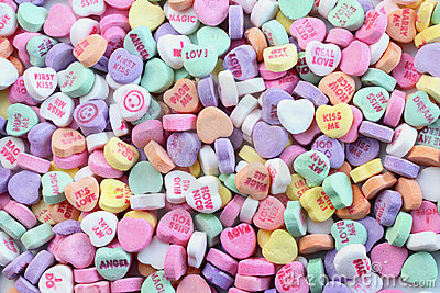Valentine S Day Candy Hearts Ingredients Quotes